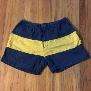 Chubbies Shorts - Nautical Blue & Yellow
